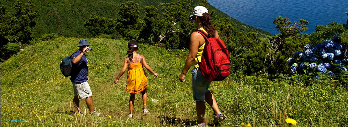 Activities Adventure and Nature for Families in Sao Jorge Island in Azores