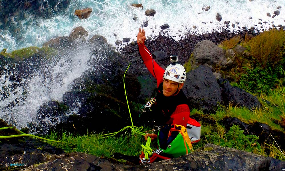 Luis Paulo Bettencourt Canyoning Aventour Azores