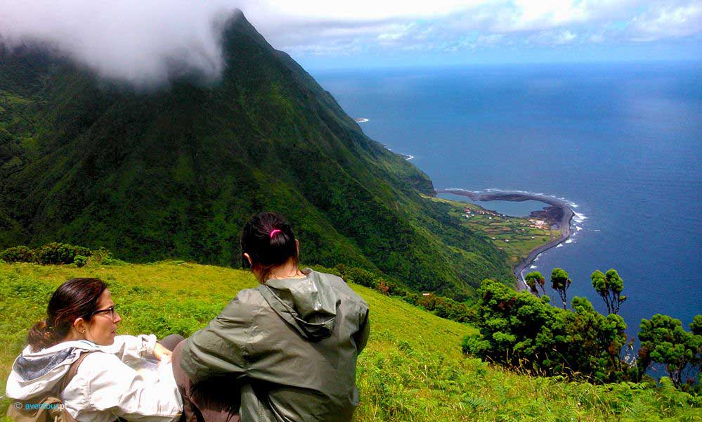 hiking Tour Paradise Valley in Sao Jorge in Azores