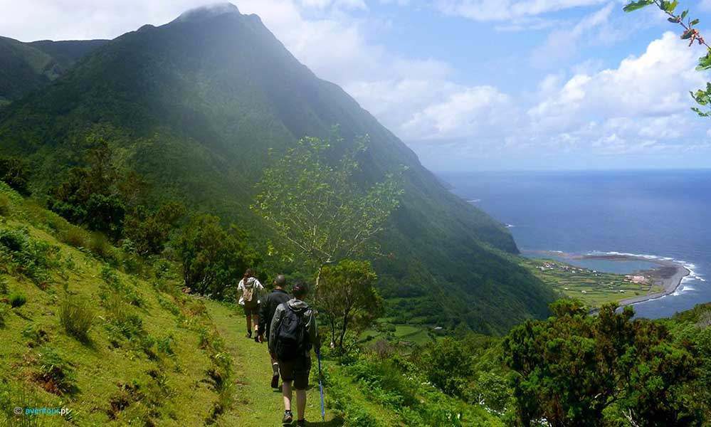 Hiking Tours in Sao Jorge Island in Azores