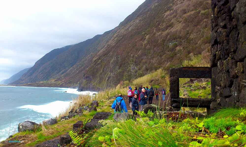 North Route Walking Trails in Sao Jorge island in Azores