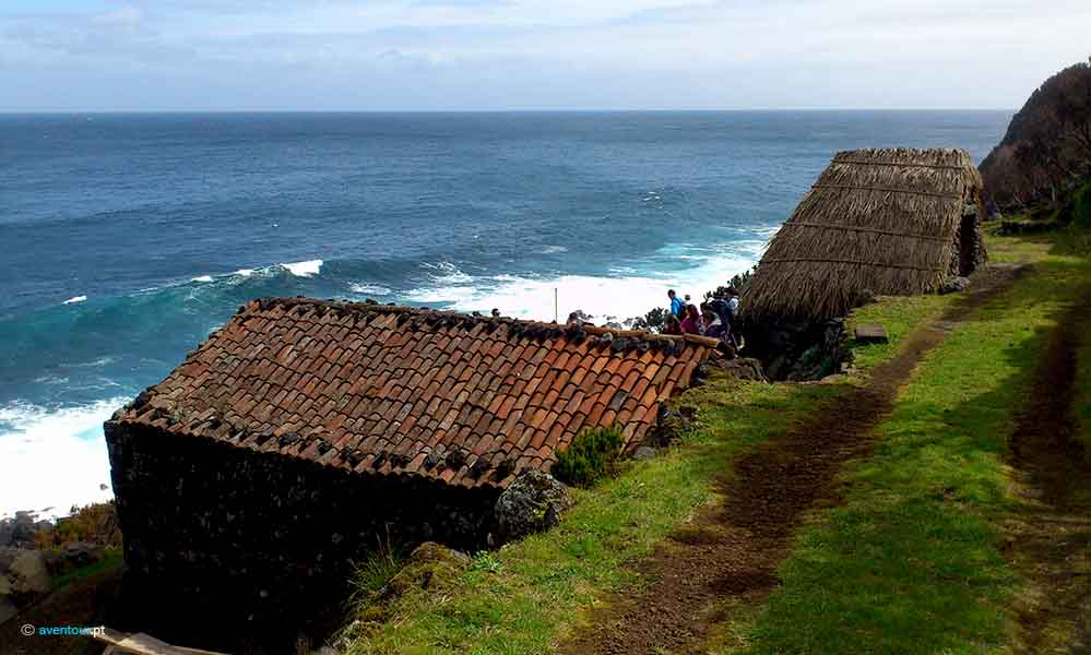 North Route Hiking Trails in Sao Jorge island in Azores