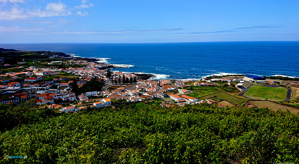 Santa Cruz Village in Graciosa Island - Azores